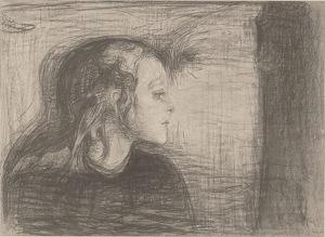Det syke barn av Edvard Munch