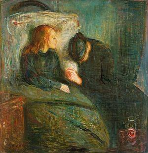 Munch sykt barn m mor