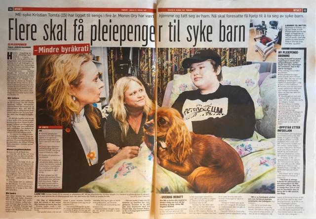 Dagbladet 18. januar 2017